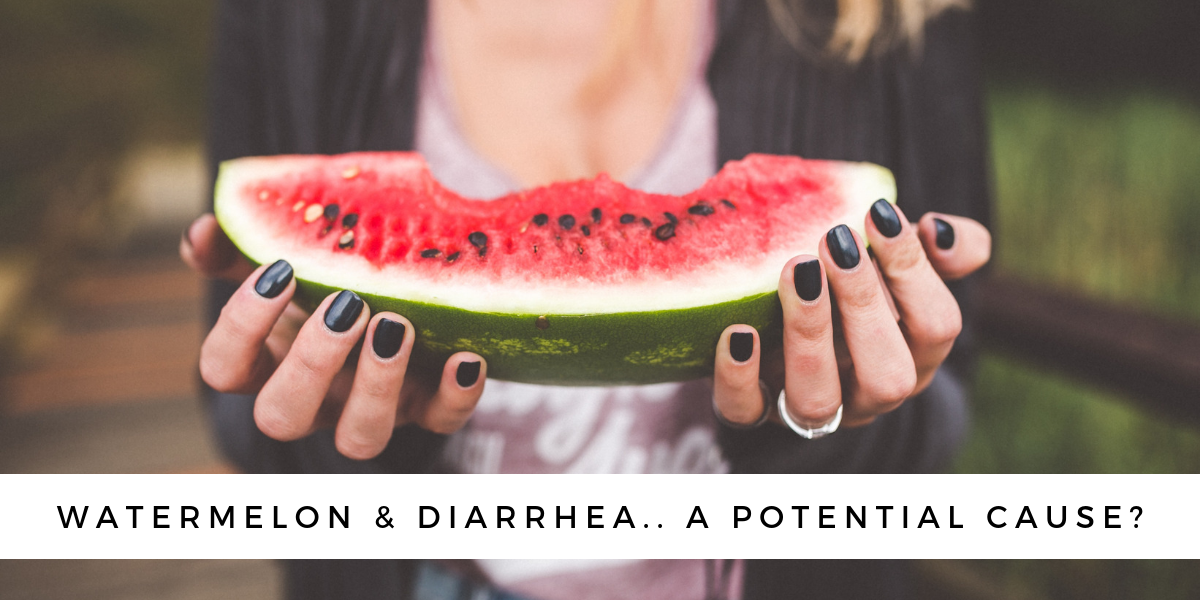 can watermelon cause diarrhea